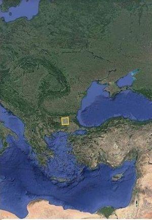 ето в това квадратче се побира цялото население на Земят от 8 милярда